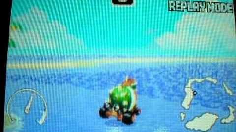 "MK Super Circuit WR 0'27""33 SNES Koopa Beach 1"
