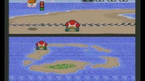 "Super Mario Kart WR 0'47""85 Koopa Beach 1"