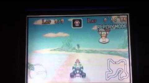 """MK Super Circuit WR 0'43""""96 Sky Garden"""