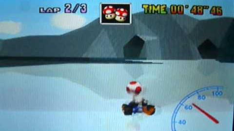 """Mario Kart 64 WR 1'55""""86 Sherbet Land"""