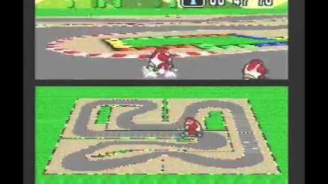 """Super Mario Kart WR 1'32""""65 Mario Circuit 4"""