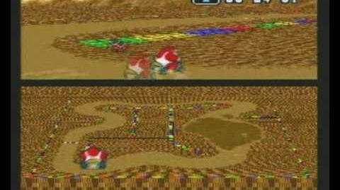 "Super Mario Kart WR 1'04""75 Choco Island 2"