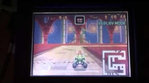 """MK Super Circuit WR 1'22""""55 SNES Bowser Castle 2"""