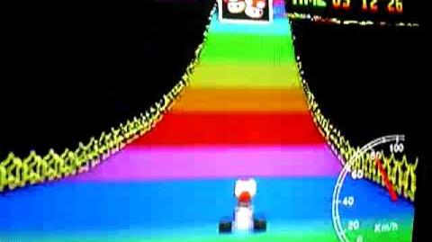 "Mario Kart 64 WR 5'53""80 Rainbow Road"