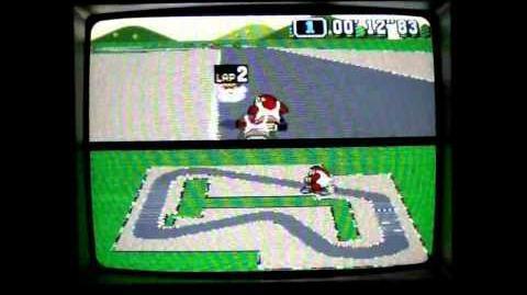 """Super Mario Kart WR 0'56""""10 Mario Circuit 1"""