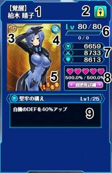 Character status-0