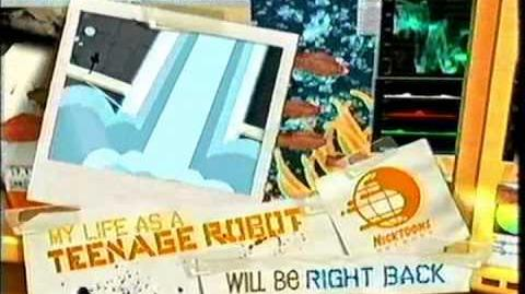 Nicktoons Network - My life As A Teenage Robot Bumpers