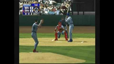 World Series Baseball 2K1 Cubs Vs. Cardinals Dreamcast HD 1080p !!!