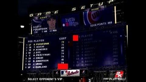 Major League Baseball 2K6 Xbox Gameplay - Inside
