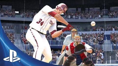 MLB 13 The Show First Look Trailer