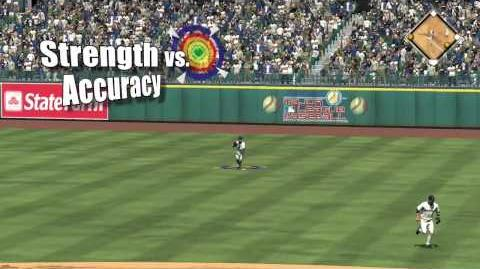 MLB® 10 The Show™ - Fielding Throw Meter