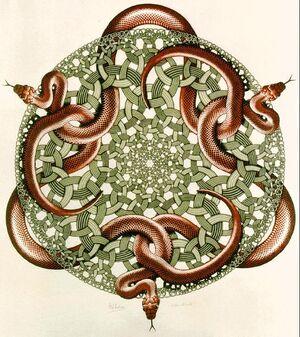 Escher Snakes