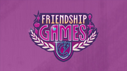 Friendship Games cortos animados logo EG3