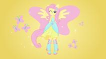 Equestria girls transformation fluttershy by fangz17-d6fu9xj