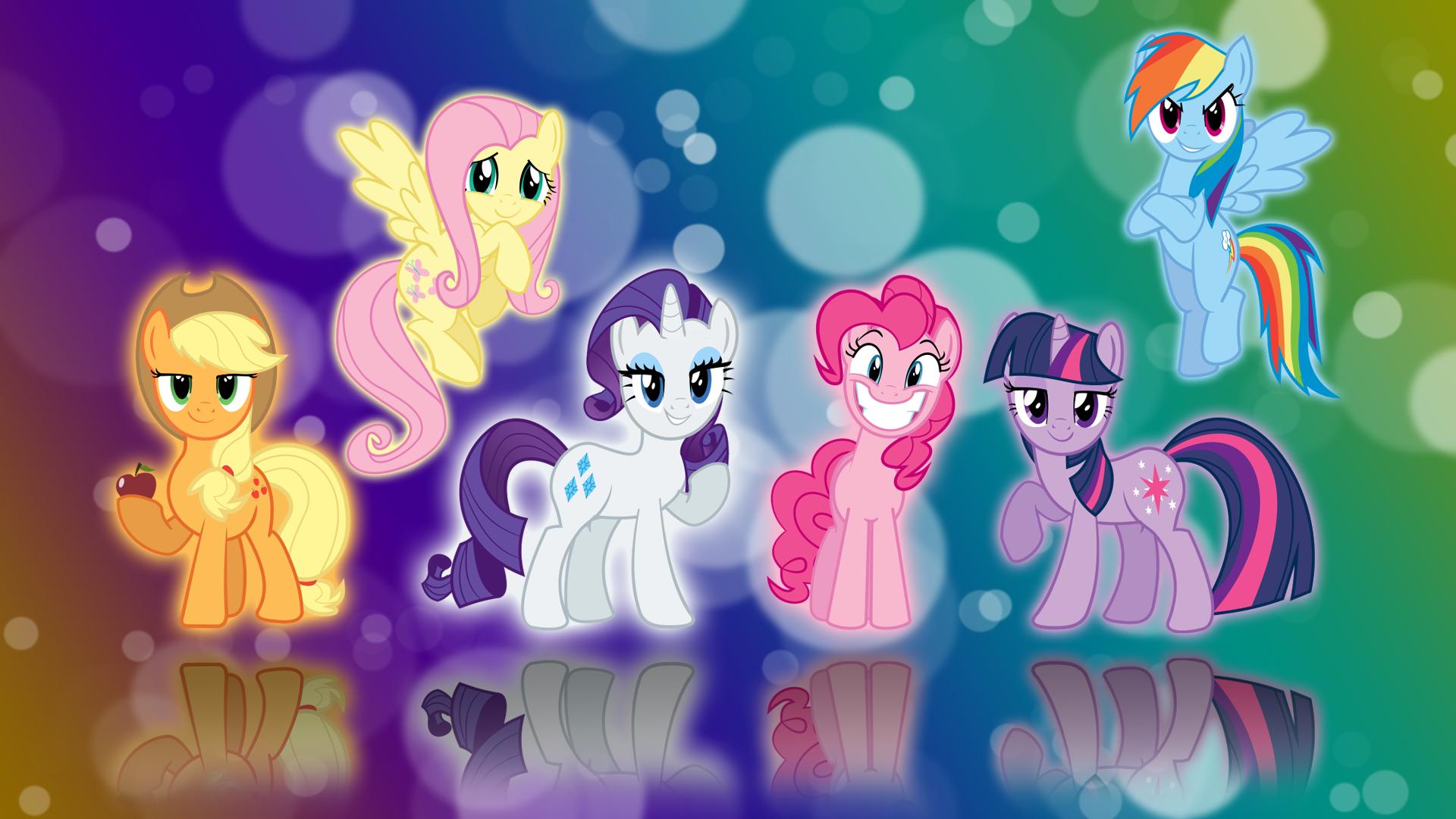 Image - My little pony fim six mane wallpaper by ...