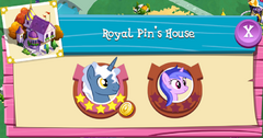 Royal Pin's House residents