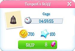 Tempest skiff - cage1