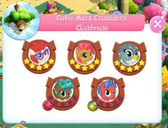 Cutie Mark Crusaders' Clubhouse residents