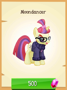 Moondancer unlocked