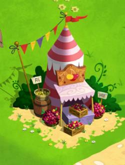 Updated cherry stand