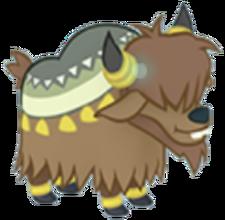 Fluffy Yak Calf Character Image