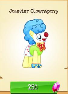 Jokester Clownspony Store Unlocked