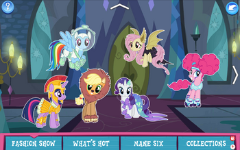 Fashion Show | The My Little Pony Gameloft Wiki | Fandom
