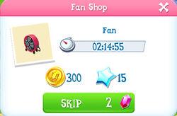 Fan shop item