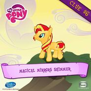 Sunset Shimmer clue 6