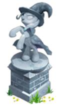 Trixie's statue