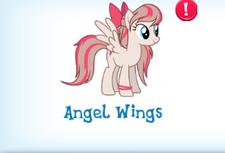 Angel wings in inventory