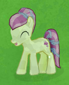 Cream Crystal Pony image