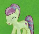 Cream Crystal Pony