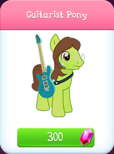 Guitarist Pony Store Unlocked