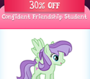 Confident Friendship Student