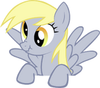 Derpy vector by thejedyates