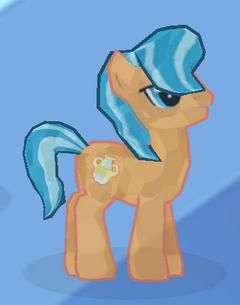 Orange Crystal Pony image