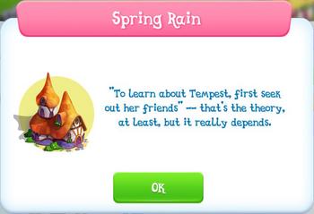 Spring Rain Album Description