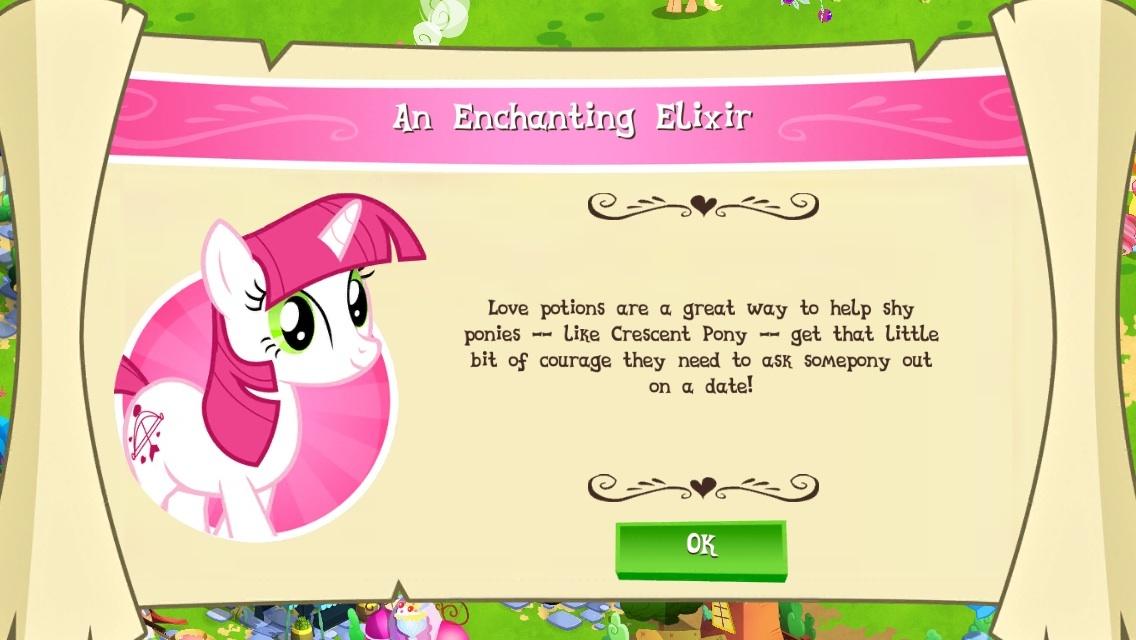 Image - An Enchanting Elixir intro.jpg   The My Little Pony Gameloft ...