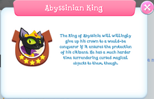 Abyssinian King Album Description