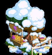Grape Stand Snow