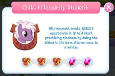 Chill Friendship Student info