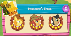 Braeburn's Shack residents