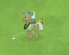 Pest Control Pony Character Image