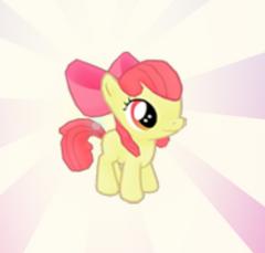 Apple Bloom Friendship Balloon Pop Reward Screen
