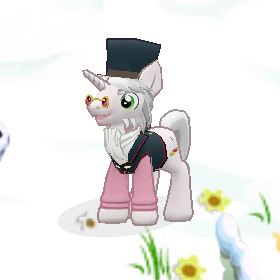 Výsledek obrázku pro distinguished pony