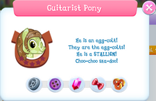 Guitarist Pony Album Description