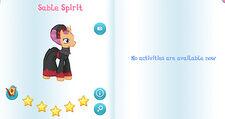 Sable spirit album