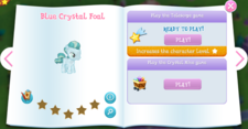 Blue Crystal Foal album