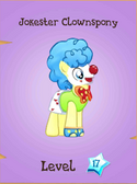 Jokester Clownspony Store Locked